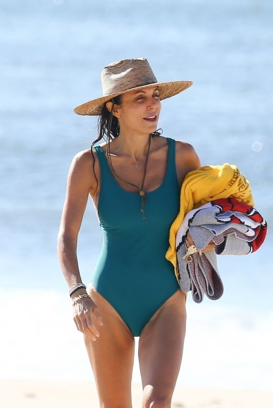 BETHENNY FRANKEL in Swimsuit at a Beach in The Hamptons 09/04/2020