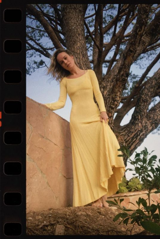 BRIE LARSON – Self Portrait Photoshoot for Emmy's 2020