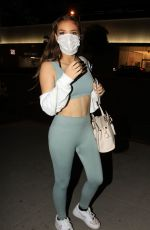 BRIGHTON SHARBINO in Tights Out in Los Angeles 09/23/2020