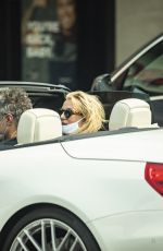 BRITNEY SPEARS Wearing a Mask Out in Calabasas 09/08/2020