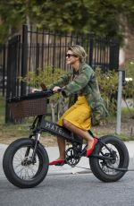 BRITTANY FURLAN Out Riding Electric Cycles in Los Angeles 09/27/2020