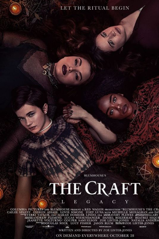 CAILEE SPAENY – The Craft Legacy Poster and Trailer, 2020