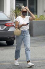 CAMERON DIAZ in Denim Out in Los Angeles 09/14/2020