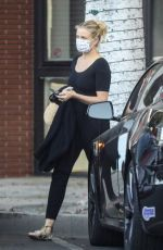 CAMERON DIAZ Leaves Her Physical Therapist in Beverly Hills 09/24/2020