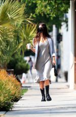 CAMILA MORRONE Out with Her Stylist in West Hollywood 09/16/2020
