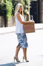 CAPRICE BOURRET Donating Goods to Charity in London 09/15/2020
