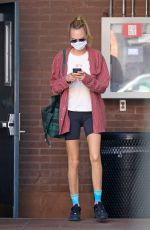 CARA DELEVINGNE Out and About in Beverly Hills 09/25/2020