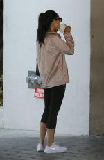 CARA SANTANA Arrives at Argyle Hotel in West Hollywood 09/02/2020