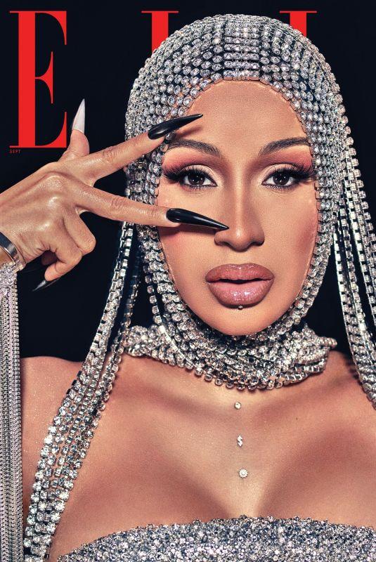 CARDI B for Elle Magazine, September 2020