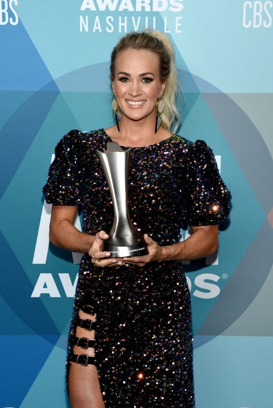 CARRIE UNDERWOOD at 2020 ACM Awards in Nashville 09/16/2020