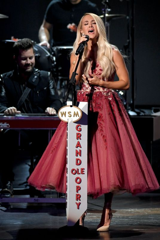 CARRIE UNDERWOOD Performs at 55th Academy of Country Music Awards at Grand Ole Opry in Nashville 09/13/2020