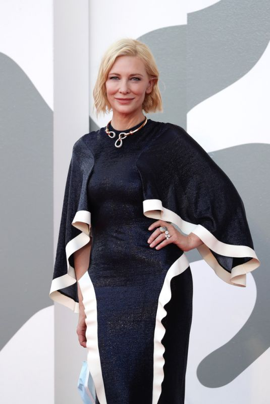 CATE BLANCHETT at 77th Venice Film Festival Opening Ceremony 09/02/2020