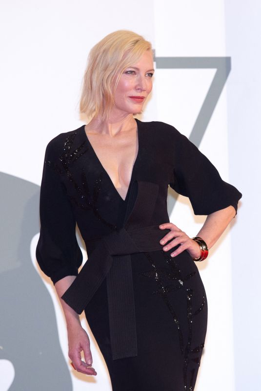 CATE BLANCHETT at Wife of a Spy Premiere at 2020 Venice International Film Festival 09/09/2020