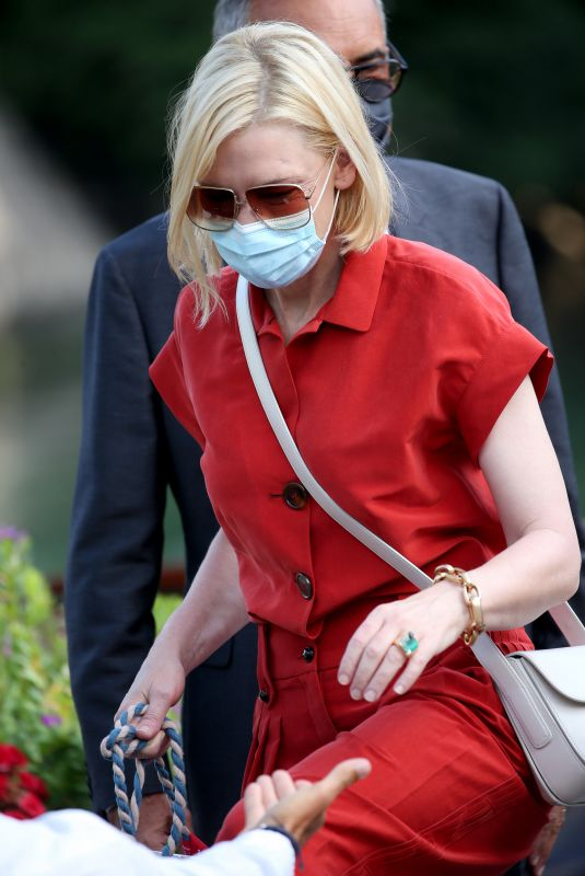 CATE BLANCHETT Out at 2020 Venice Intenrantionalm Film Festival 09/11/2020