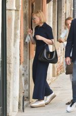 CATE BLANCHETT Out at Venice Film Festival 09/10/2020