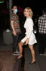 CAYLEE COWAN at Delilah in West Hollywood 09/17/2020