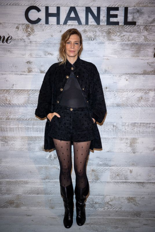 CELINE SALLETTE at Chanel's Dinner at 2020 Deauville American Film Festival 09/11/2020