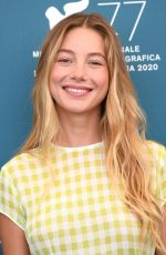 CHARLOTTE VEGA at Mosquito State Photocall at 77th Venice Film Festival 09/05/2020