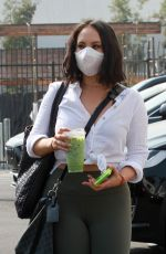 CHERYL BURKE Arrives at DWTS Rehearsal in Los Angeles 09/16/2020