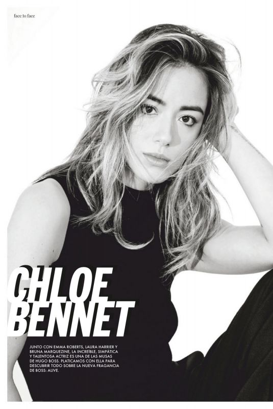 CHLOE BENNET in Elle Magazine, Mexico September 2020