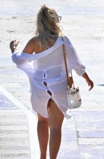 CHLOE FERRY and BETHAN KERSHAW Out on Holiday in Marbella 09/0/2020
