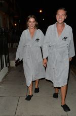 CHLOE ROSS Leaves her Hotel in London 09/07/2020
