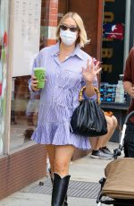 CHLOE SEVIGNY and Sinisa Mackovic Out in New York 09/27/2020