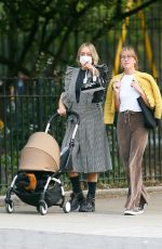 CHLOE SEVIGNY Out with her Baby and Friend in New York 09/22/2020