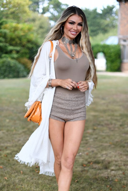 CHLOE SIMS at The Only Way is Essex Set in Essex 09/15/2020