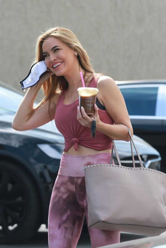 CHRISHELL STAUSE Arrives at DWTS Studio in Los Angeles 09/18/2020