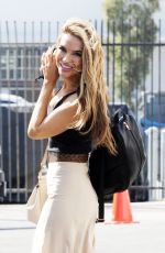 CHRISHELL STAUSE at DWTS Studio in Los Angeles 09/25/2020