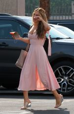 CHRISHELL STAUSE Heading to DWTS Rehersal in Los Angeles 09/26/2020