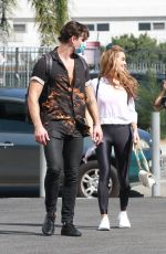 CHRISHELL STAUSE Leaves DWTS Practice in Los Angeles 09/29/202