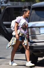 CHRISTINA MILIAN Out and About in Studio City 09/05/2020