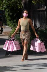 CHRISTINA MILIAN Out in West Hollywood 09/18/2020