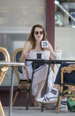 CLAIRE FOY Out for Coffee in Hampstead 09/14/2020