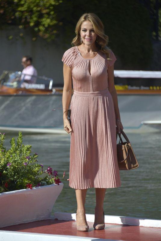 CLAUDIA GERINI Arrives at Excelsior Hotel in Venice 09/08/2020