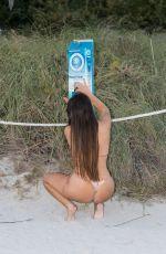 CLAUDIA ROMANI in Bikini at a Beach in Miami 09/07/2020