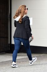 COLEEN ROONEY Leaves a Hair Salon in Cheshire 09/04/2020
