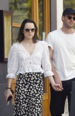 DAISY RIDLEY Out and About in London 09/27/2020