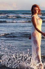 DAKOTA BLUE RICHARDS at a Photoshoot on the Beach, September 2020