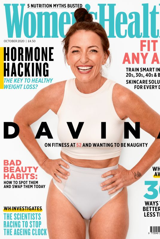 DAVINA MCCALL in Women's Health Magazine, October 2020