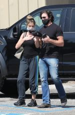 DENISE RICHARDS and Aaron Phypers Out in Malibu 09/23/2020