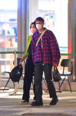 DUA LIPA and Anwar Hadid Out for Dinner in New York 09/21/2020