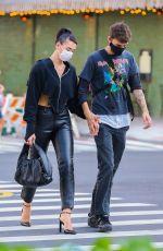DUA LIPA and Anwar Hadid Out in New York 09/28/2020