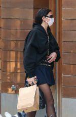 DUA LIPA Arrives at Her Apartment in New York 09/23/2020