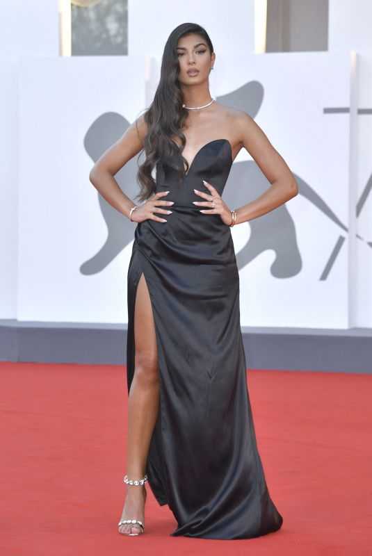 ELISA MAINO at Nomadland Premiere at 77th Venice International Film Festival 09/11/2020