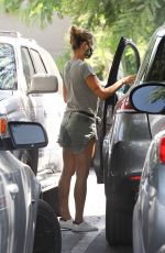 ELISABETTA CANALIS Shopping at Bistol Farms in Beverly Hills 09/04/2020