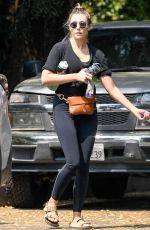 ELIZABETH OLSEN Leaves a Private Gym in Sherman Oaks 09/09/2020