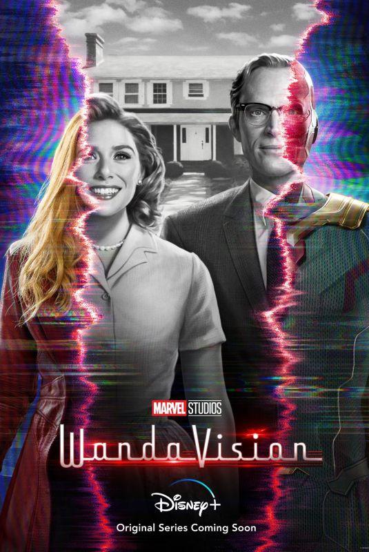 ELIZABETH OLSEN – Vandavision 2020 Poster